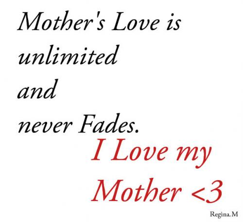 Quotes About Mother's Love 60 Quotes Impressive Quotes For Mothers Love