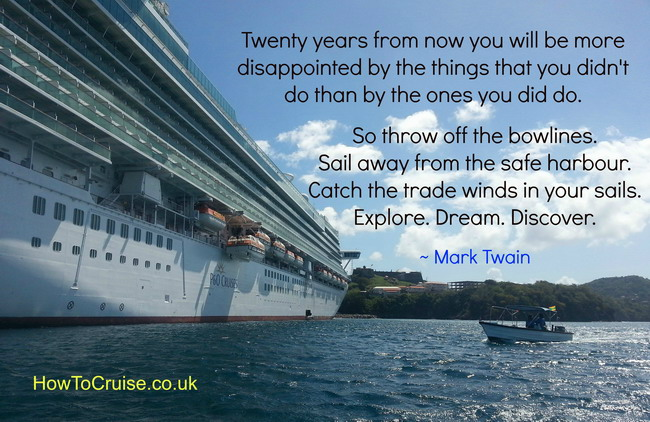 Picture Quotes About Cruising: Quotes About Cruise Ships (54 Quotes