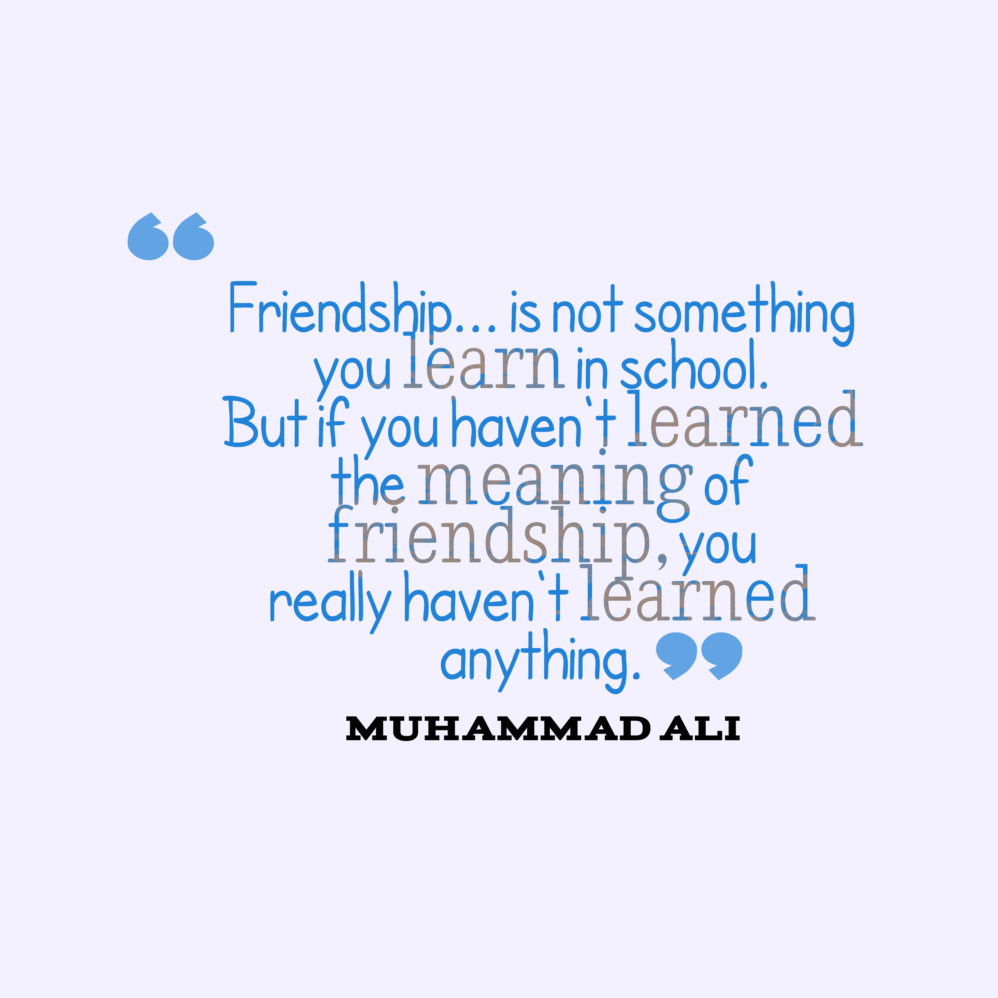 Quotes About Friendship In High School 16 Quotes