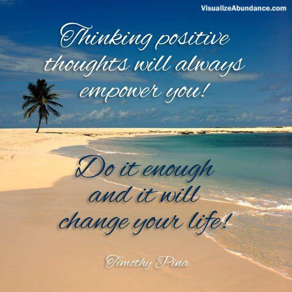 Positive Thoughts Quotes | Quotes About Positive Thoughts 132 Quotes