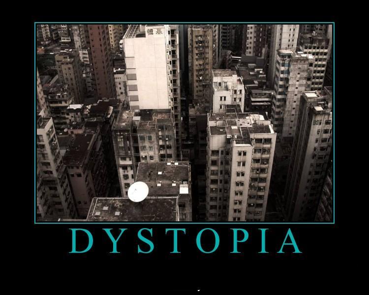 society vs a modern dystopia