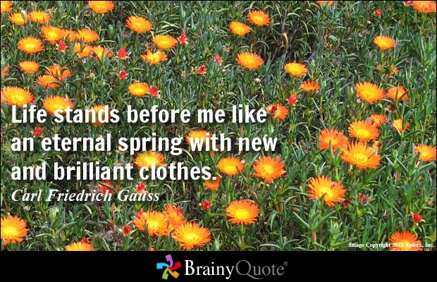 Quotes About Spring Flowers 94 Quotes