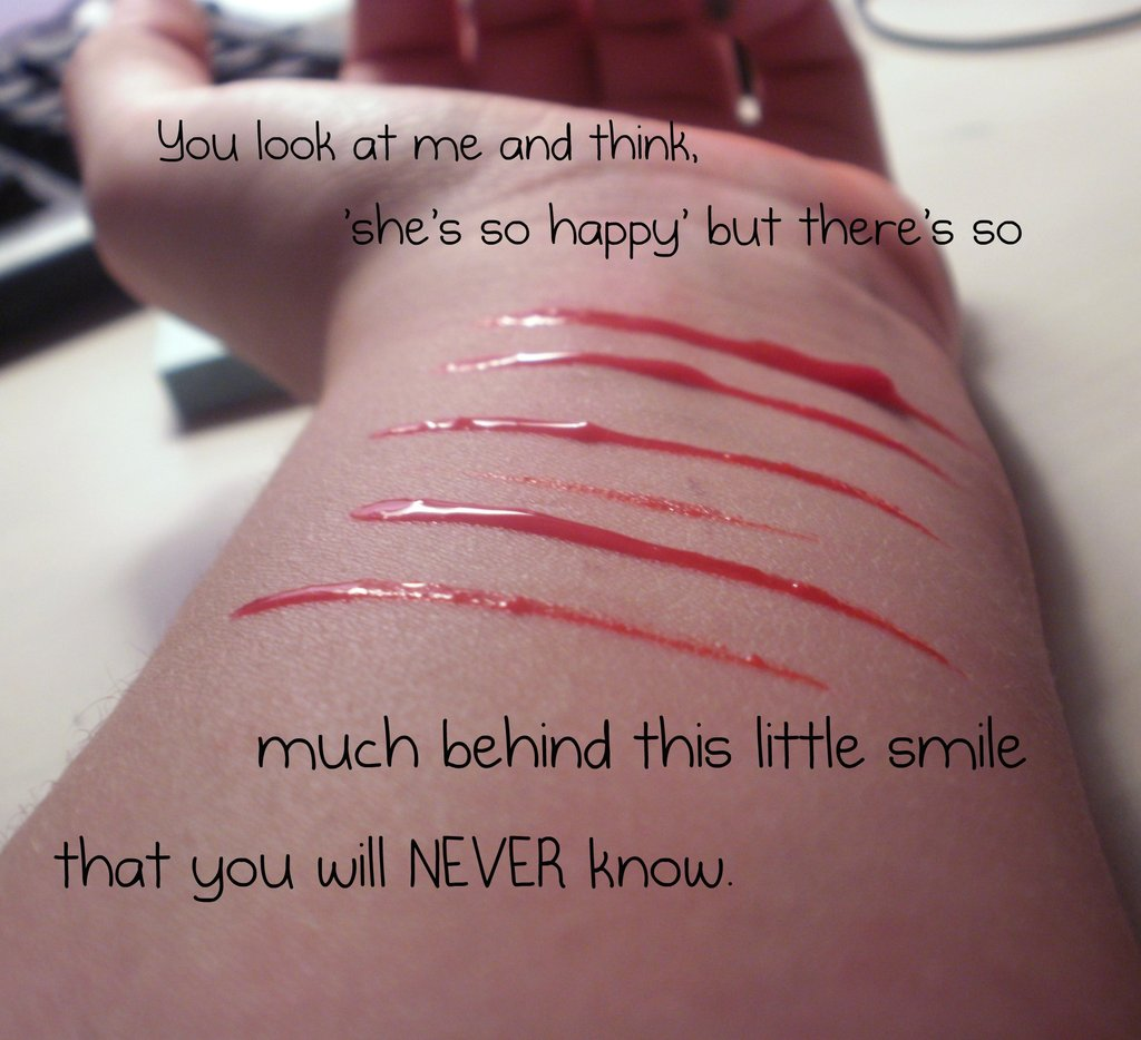Behind Smile Quotes Behind My Smile Quote Photo Hiding Behind A