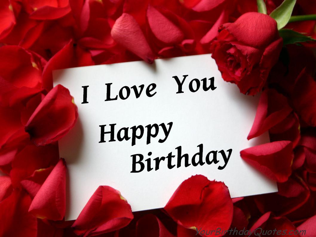 Quotes About Birthday Of Your Love 26 Quotes