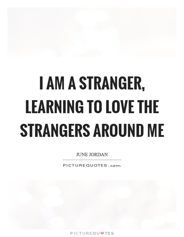 Quotes About Liking A Stranger 60 Quotes Beauteous The Stranger Quotes