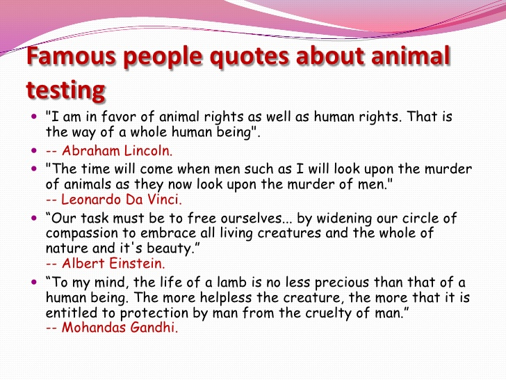 animal testing short essay Argumentative essay on animal rights essaysanimal testing is used to protect us humans from a wide range of chemicals and products, including drugs, vaccines, cosmetics, household cleaners, pesticides, foods, and packing materials.