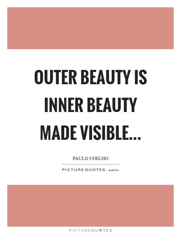 difference between inner beauty and outer beauty
