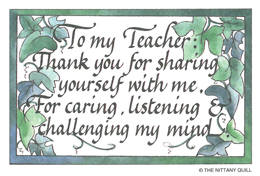 Quotes About Thanks To Teachers 22 Quotes