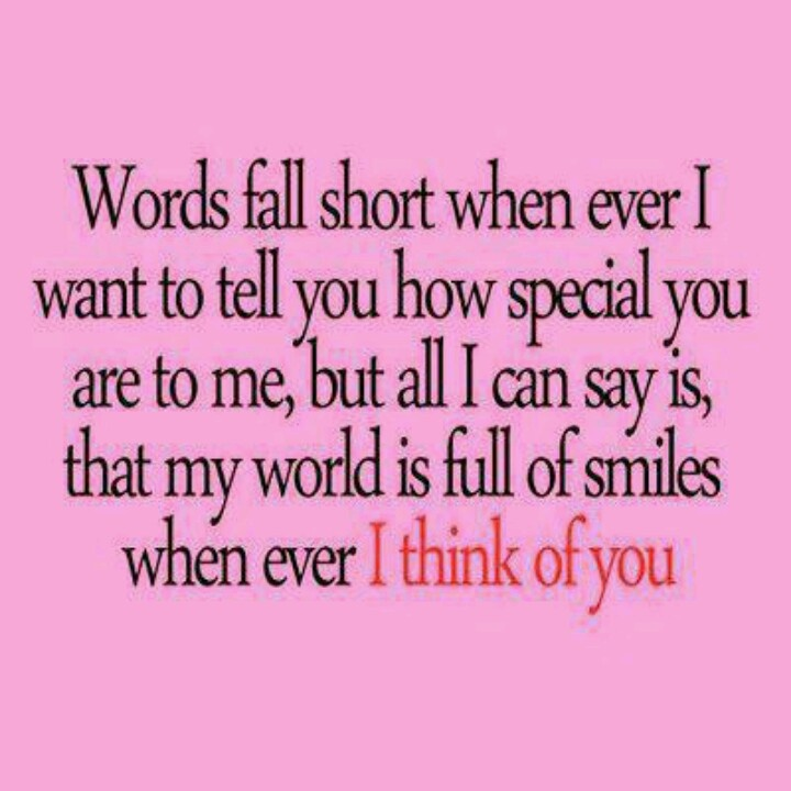 your special to me quotes