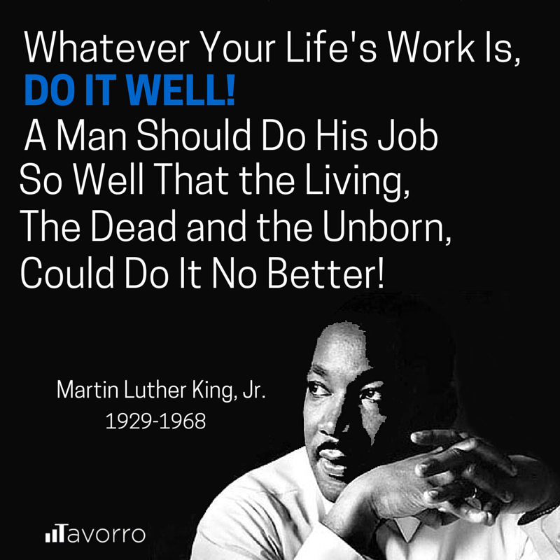 Martin luther king jr adulthood
