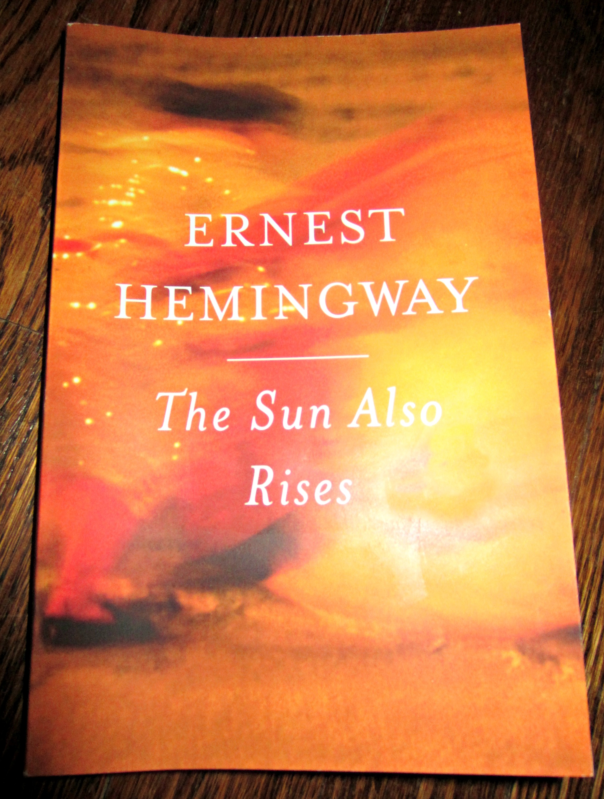 the sun also rises thought paper essay The sun also rises is a beautifully written account of a generation lost in an unknown cause that leaves them abandoned in the end  hemmingway wrote this story in a unique fashion  hemmingway wrote this story in a unique fashion.