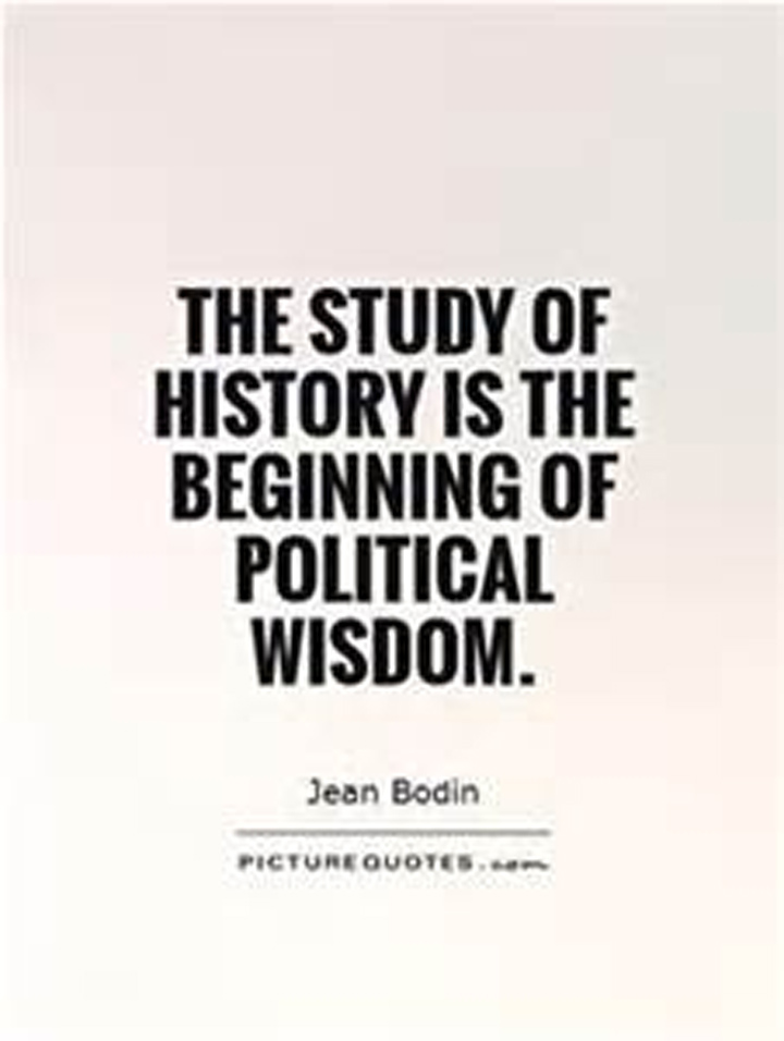 the importance of the study of history Have you ever had your students (or parents, or administrators) wonder why history is being taught in schools i made this video to address that very.