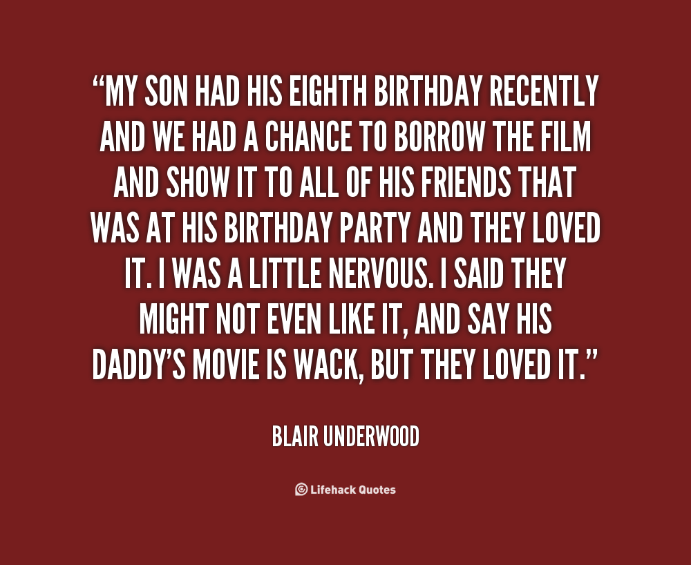 Quotes About Your Son Birthday 23 Quotes