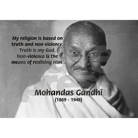 the influence of mohandas gandhi on non violent movements