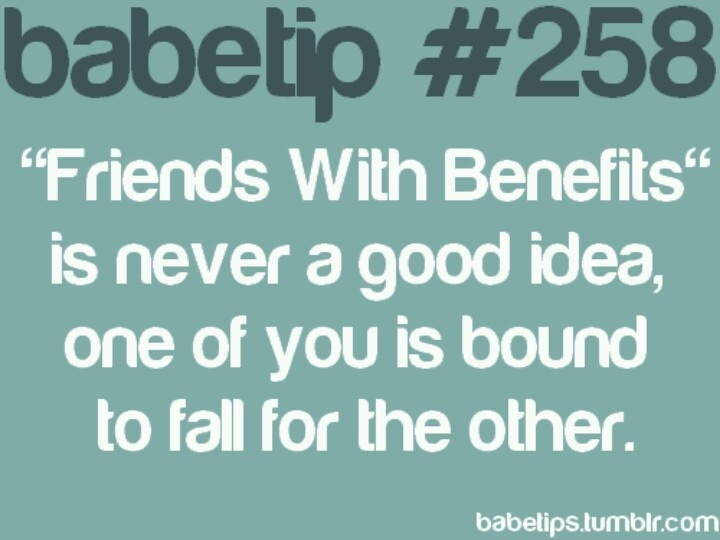 Love quotes about friends with benefits