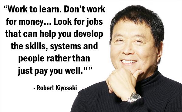 robert kiyosaki business plan