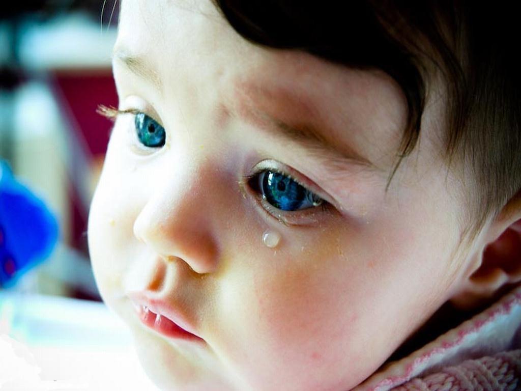 Глаза ребенка на фото