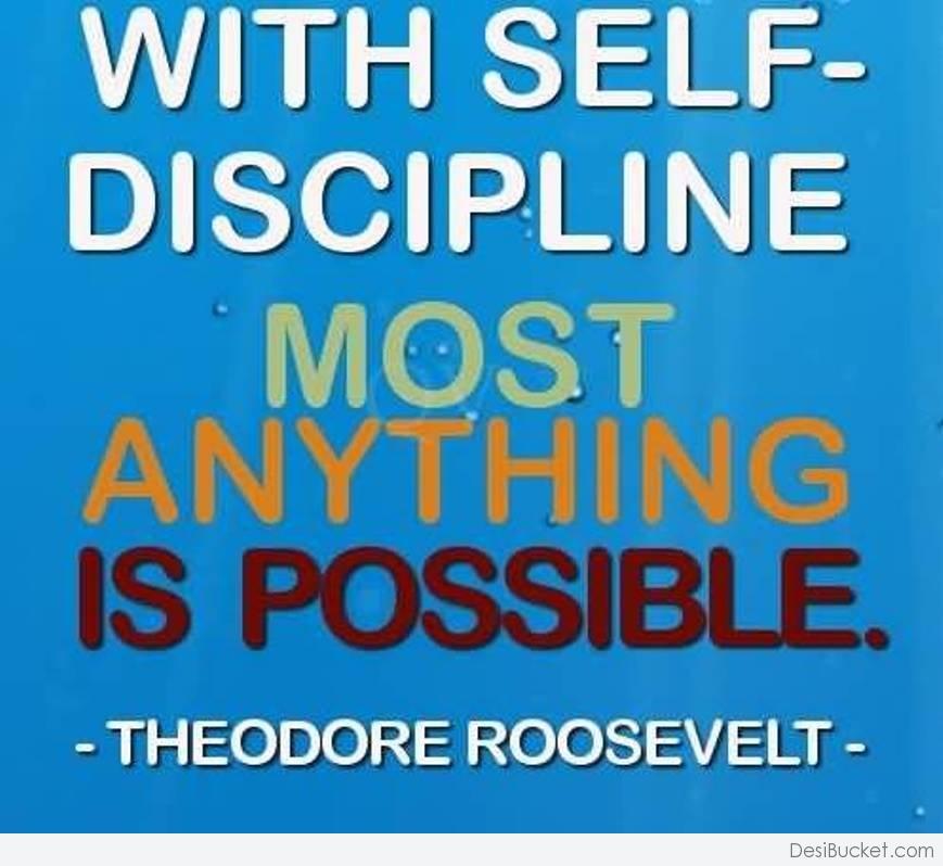 best self discipline essay