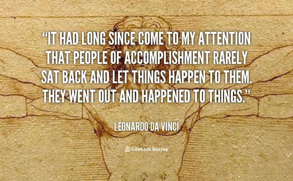 Quotes About Art Leonardo Da Vinci 60 Quotes Extraordinary Da Vinci Quotes