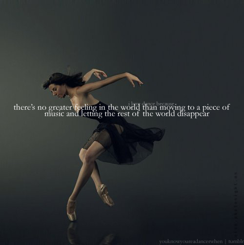 Quotes About Ballet Dancer 104 Quotes