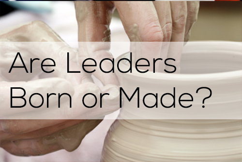 are leaders made or born