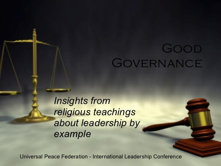 makalah good governance