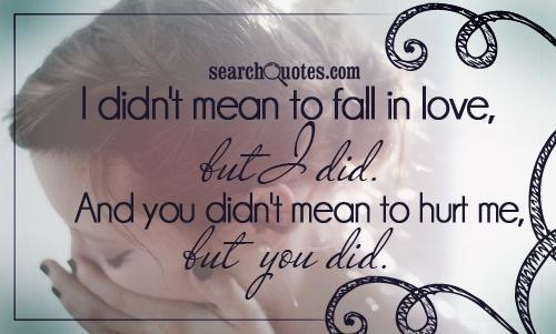 love is hurt