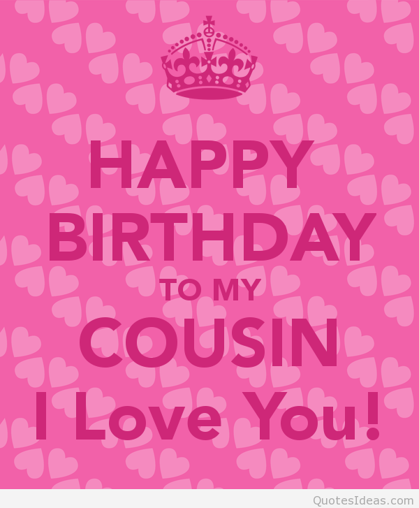 Quotes About Birthday Cousin 27