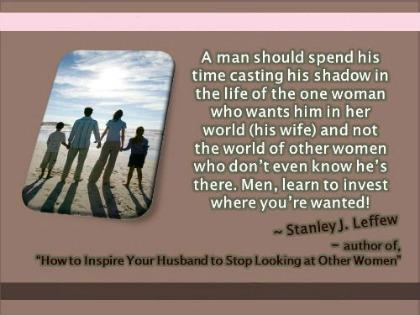 Husband wandering eye