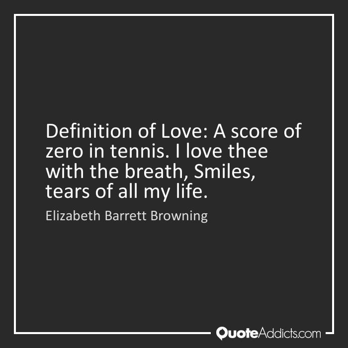 definitive essay love