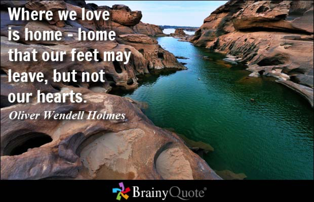 Quotes About Way Back Home 47 Quotes