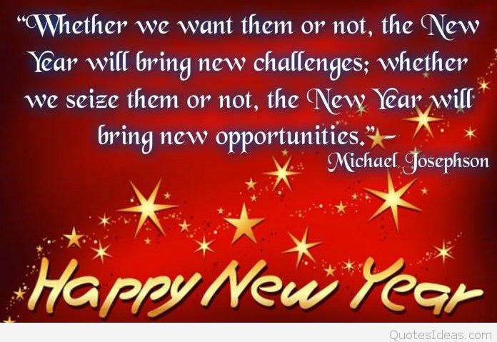 Quotes about New year and friendship (13 quotes)