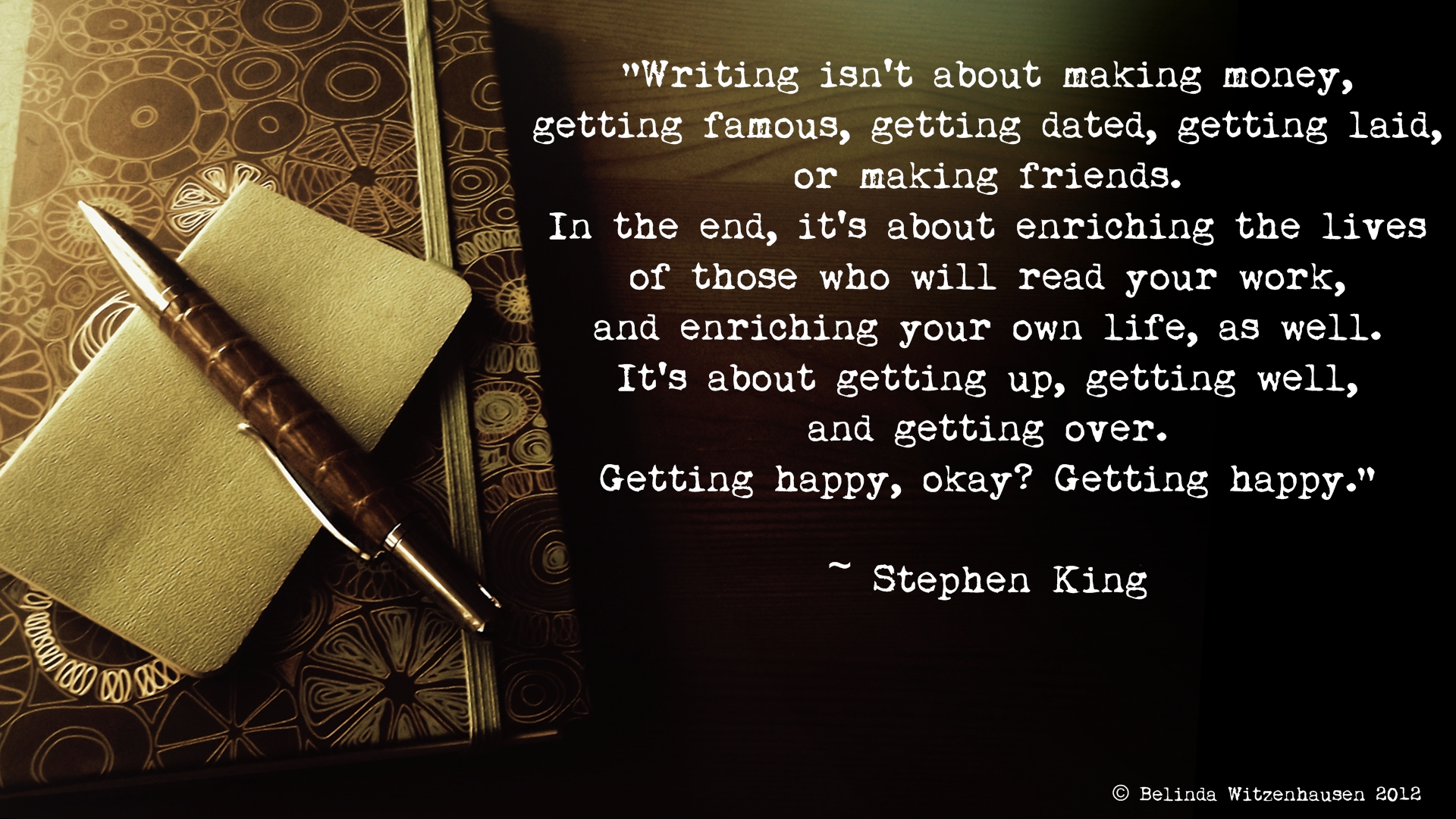 writing quotes stephen king 1 stephen king on writing: a memoir of the craft new york: simon & schuster, 2000 miriam e wells as.
