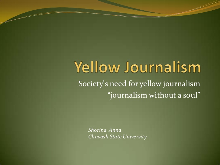 Quotes About Yellow Journalism 60 Quotes Unique Journalism Quotes