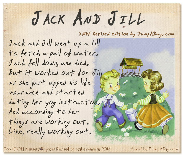 Funny adult nursery rhymes remarkable, the