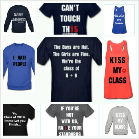 Funny senior class shirts 2015