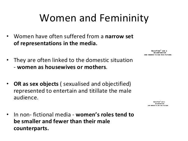 an analysis of the representations of masculinity and femininity in miguel steetlt The gendered innovations project develops methods of sex and gender analysis for femininities & masculinities forms of femininity and many forms of masculinity.