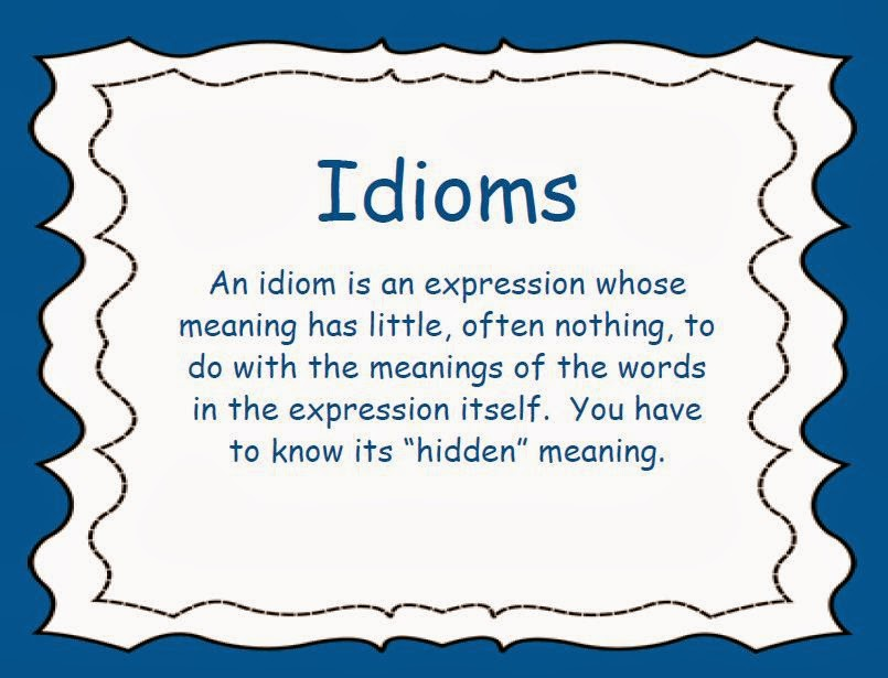 idioms to be used in an essay Origins of english figurative idioms english language essay soon enough those idioms were used by the if you are the original writer of this essay and no.