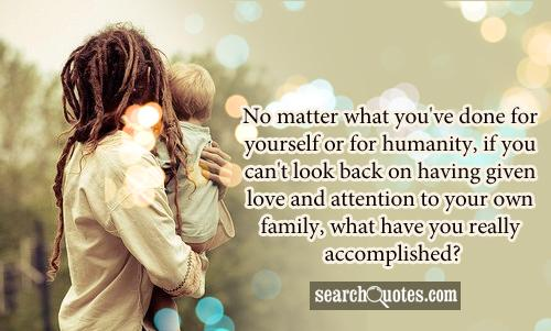 Love And Family Problems Quotes Bsctv