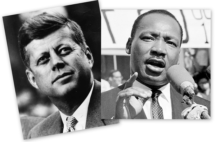 john f kennedy compared to martin Martin luther king or john f kennedy – who was the greater speechmaker the era of the 1960s provided the world with some of the greatest speechmakers we have known.
