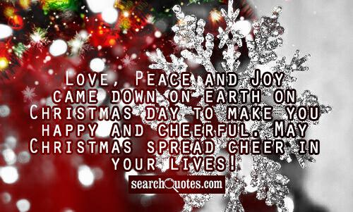 Quotes about Christmas joy (63 quotes)