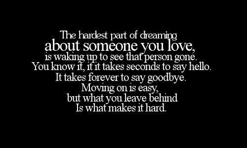 Leaving the person you love quotes