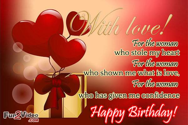 Funnfunin Birthday Love Quotes For Her