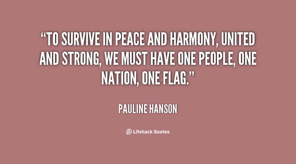 Quotes About Peace And Harmony 124 Quotes