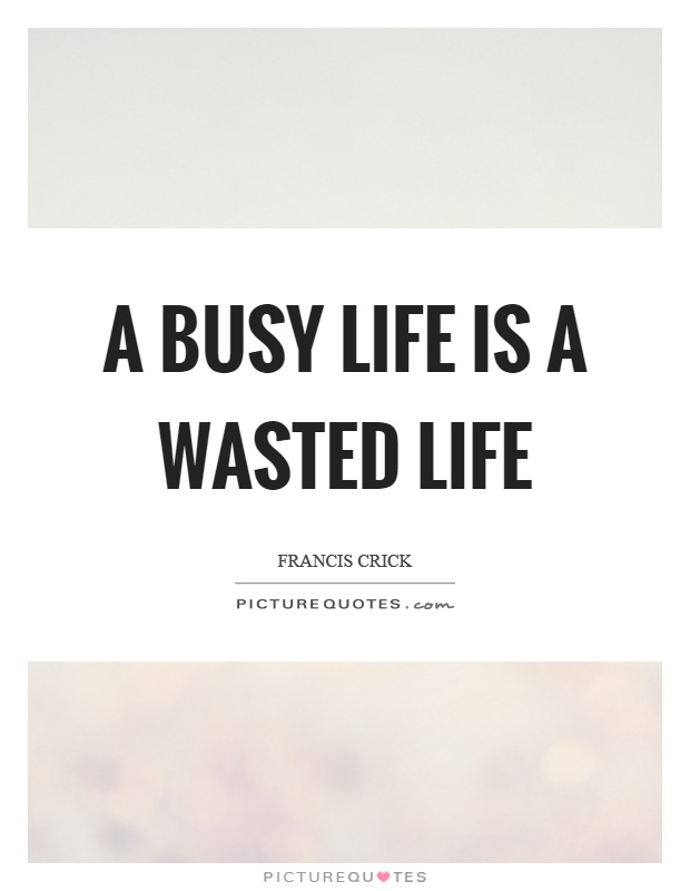 Quotes About Busy Life 127 Quotes