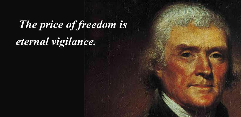 Quotes About Freedom Thomas Jefferson 60 Quotes Cool Thomas Jefferson Famous Quotes