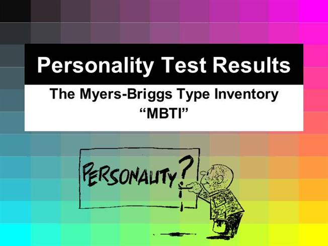 my myer briggs personality test results What the myers-briggs personality test can and your results may be different from a you to take the myers-briggs test and then evaluate your.
