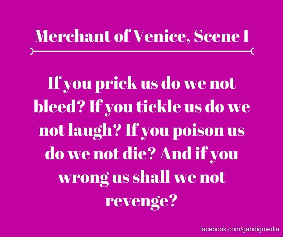 racism merchant venice shakespeare In mobile carnival theatre company's reimagining of shakespeare's the merchant of venice dr rodrigo lopez, english, racism, shylock, the merchant of venice.