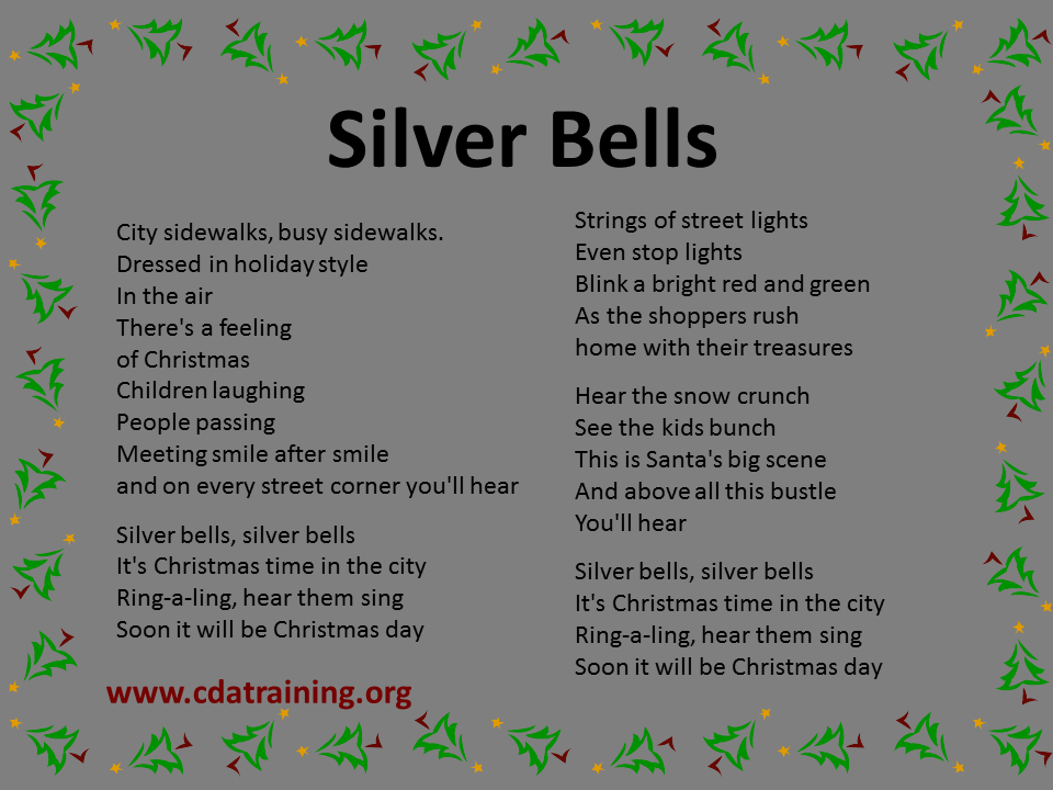 Quotes about Silver bells (29 quotes)