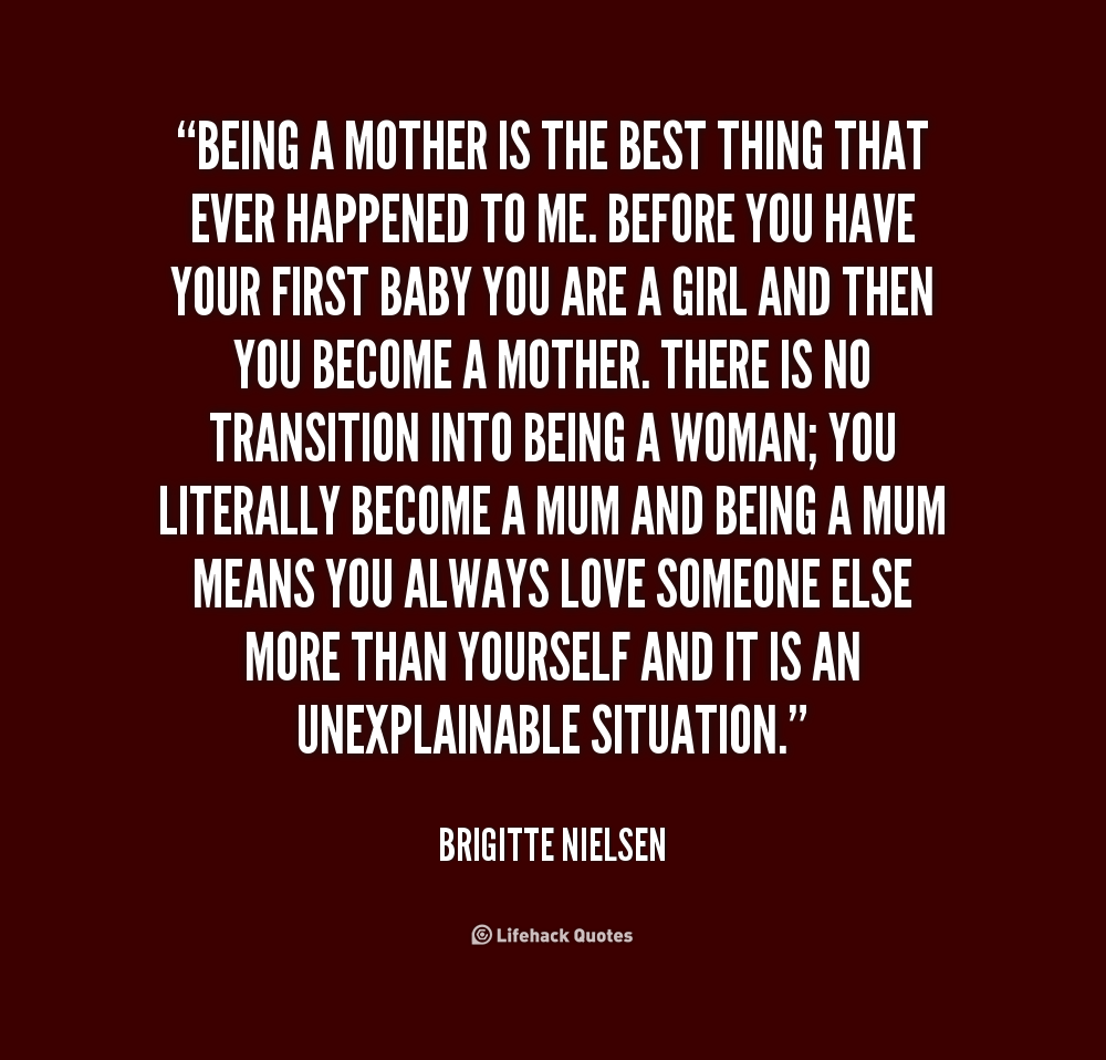 Quotes about being a good mother 52 quotes for Sayings about being a mom